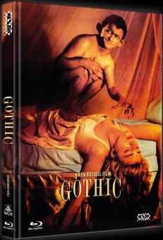 Gothic (Limited Mediabook, Blu-ray+DVD, Cover C) (1986) [Blu-ray]