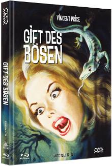 Das Gift des Bösen (Limited Mediabook, Blu-ray+DVD, Cover D) (1963) [Blu-ray]