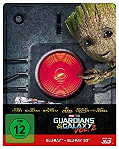 Guardians of the Galaxy 2 (3D Blu-ray+Blu-ray, Steelbook) (2017) [3D Blu-ray]