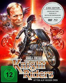 Knightriders - Ritter auf heissen Öfen (Limited Mediabook, 2 Blu-ray's+DVD) (1981) [Blu-ray]