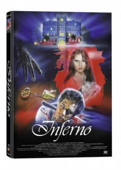 Horror Infernal (Inferno) (3 Disc Mediabook, Blu-ray+2 DVDs, Cover B) (1980) [FSK 18] [Blu-ray]