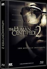 The Human Centipede 2 (Limited Collectors Mediabook, Blu-ray+DVD) (Cover C) (2011) [FSK 18] [Blu-ray]