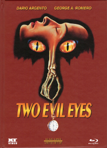 Two Evil Eyes (Limited Mediabook, Blu-ray+DVD, Cover A) (1990) [FSK 18] [Blu-ray]