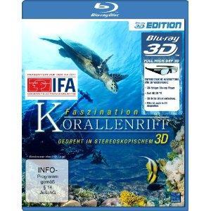 Faszination Korallenriff 3D (3D Version inkl. 2D Version & 3D Lenticular Card) [3D Blu-ray]