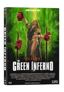 The Green Inferno (Director's Cut) (Limited Mediabook, Blu-ray+DVD, Cover C) (2013) [FSK 18] [Blu-ray]