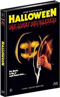 Halloween - Die Nacht des Grauens (Limited Mediabook, Blu-ray+DVD, Cover B) (1978) [Blu-ray]