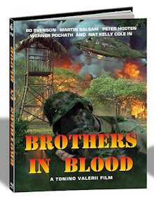 Brothers in Blood (Savage Attack) (Limited Mediabook, Cover C) (1987) [FSK 18] [Blu-ray]