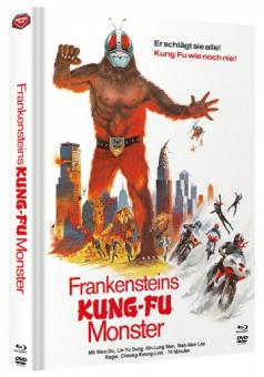 Frankensteins Kung-Fu Monster (Limited Mediabook, Blu-ray+DVD, Cover A) (1975) [FSK 18] [Blu-ray]
