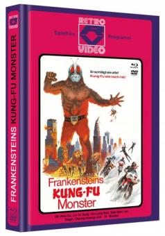 Frankensteins Kung-Fu Monster (Limited Mediabook, Blu-ray+DVD, Cover C) (1975) [FSK 18] [Blu-ray]