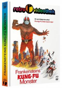 Frankensteins Kung-Fu Monster (Limited Mediabook, Blu-ray+DVD, Cover D) (1975) [FSK 18] [Blu-ray]