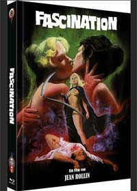 Fascination - Das Blutschloss der Frauen (Limited Mediabook, Blu-ray+DVD, Cover C) (1979) [FSK 18] [Blu-ray]