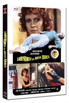Labyrinth des roten Todes (Limited Mediabook, Blu-ray+DVD, Cover D) (1975) [FSK 18] [Blu-ray]