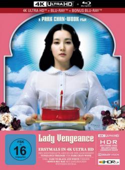 Lady Vengeance (Limited Mediabook, 4K Ultra HD + 2 Blu-ray's) (2005) [4K Ultra HD]