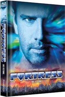 Fortress - Die Festung (Limited Mediabook, Blu-ray+DVD, Cover B) (1993) [Blu-ray]