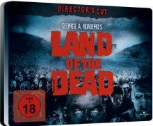 Land of the Dead (Limited Quersteelbook, Director's Cut) (2005) [FSK 18] [Blu-ray]