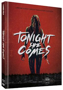 Tonight She Comes - Die Nacht der Rache (Limited Mediabook, Blu-ray+DVD, Cover C) (2016) [FSK 18] [Blu-ray]