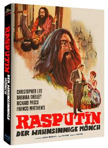 Rasputin - Der wahnsinnige Mönch (Limited Mediabook, Cover B) (1966) [Blu-ray]