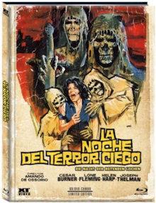 Die Nacht der reitenden Leichen (Limited Mediabook, Blu-ray+DVD, Cover B) (1971) [FSK 18] [Blu-ray]
