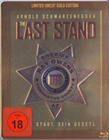 The Last Stand (Uncut, Limited Gold Edition im Steelbook) (2013) [FSK 18] [Blu-ray]