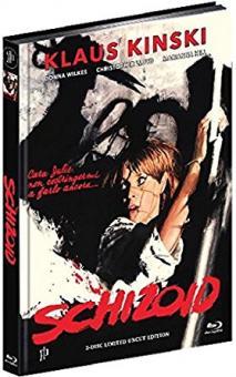 Schizoid (Limited Mediabook, Blu-ray+DVD, Cover B) (1980) [FSK 18] [Blu-ray]