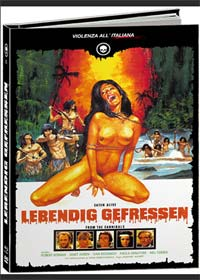 Lebendig Gefressen (Limited Mediabook, Blu-ray+2 DVDs+CD) (1980) [FSK 18] [Blu-ray]