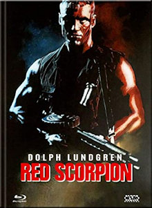 Red Scorpion (Limited Mediabook, Blu-ray+DVD, Cover C) (1989) [FSK 18] [Blu-ray]