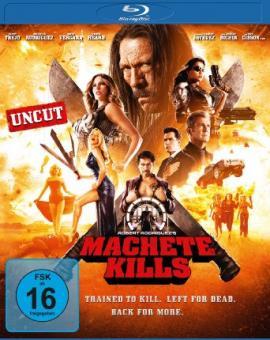 Machete Kills (Uncut) (2013) [Blu-ray]