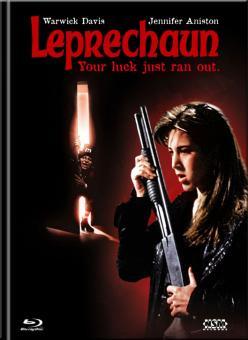 Leprechaun (Limited Mediabook, Blu-ray+DVD, Cover B) (1993) [Blu-ray]