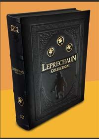 Leprechaun Collection (Teil 1-4 & Leprechaun: Origins, Limited Leatherbook+Mediabook) [FSK 18] [Blu-ray]