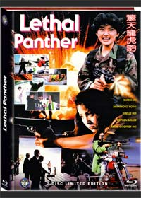 Der tödliche Panther (Lethal Panther) (Limited Mediabook, Blu-ray+DVD, Cover B) (1990) [FSK 18] [Blu-ray]