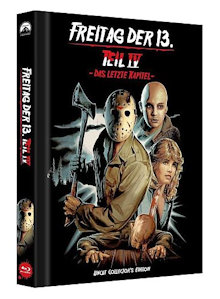 Freitag der 13. Teil 4 (Limited Collector's Edition Mediabook, Cover D) (1984) [FSK 18] [Blu-ray]