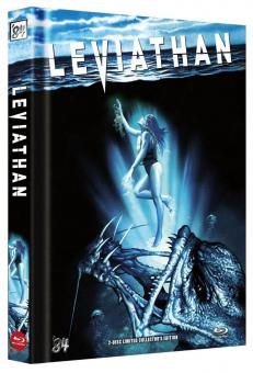 Leviathan (Limited Mediabook, Blu-ray+DVD, Cover B) (1989) [Blu-ray]