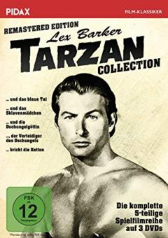 Tarzan - Lex Barker Collection (3 DVDs, Remastered Edition)