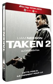 96 Hours - Taken 2 (Extended Cut, Steelbook, +DVD) (2012) [EU Import] [Blu-ray]
