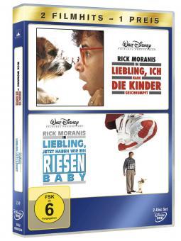 Liebling, ich habe die Kinder geschrumpft / Liebling, jetzt haben wir ein Riesenbaby (2 DVDs)