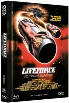 Lifeforce - Die tödliche Bedrohung (Limited Mediabook, Blu-ray+DVD, Cover A) (1985) [Blu-ray]