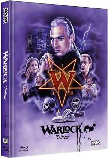 Warlock Trilogie (Limited Mediabook, 3 Discs, Cover D) [Blu-ray]
