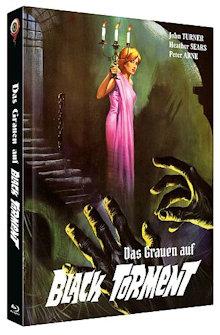 Das Grauen auf Black Torment (Limited Mediabook, Blu-ray+DVD, Cover C) (1964) [Blu-ray]