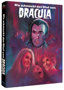 Wie schmeckt das Blut von Dracula (Limited Mediabook, Cover C) (1970) [Blu-ray]
