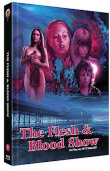 The Flesh & Blood Show (Limited Mediabook, Blu-ray+DVD, Cover B) (1972) [FSK 18] [Blu-ray]