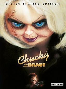 Chucky und seine Braut (Uncut Limited Mediabook, Blu-ray+DVD) (1998) [FSK 18] [Blu-ray]