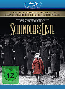 Schindlers Liste (Remastered) (1993) [Blu-ray]