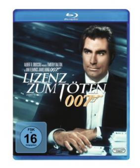 James Bond - Lizenz zum Töten (1989) [Blu-ray]