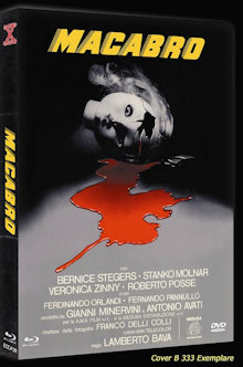 Macabro - Die Küsse der Jane Baxter (Limited Mediabook, Blu-ray+DVD, Cover B) (1980) [FSK 18] [Blu-ray]