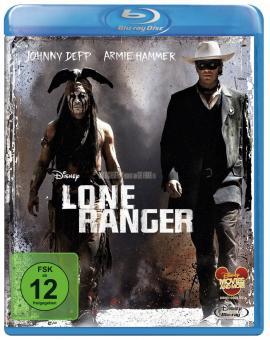 Lone Ranger (2013) [Blu-ray]