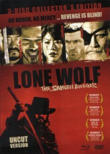 Lone Wolf - The Samurai Avenger (Limited 3-Disc Collectors Edition, DVD+Blu-ray) (2009) [FSK 18] [Blu-ray]