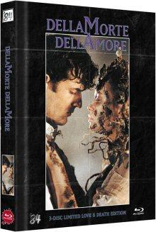 Dellamorte Dellamore (Mediabook, 3DBlu-ray, Blu-ray+DVD, Limitiert auf 222 Stück, inkl. Soundtrack CD, Cover C) (1994) [FSK 18] [3D Blu-ray]