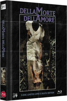 Dellamorte Dellamore (Mediabook, 3DBlu-ray, Blu-ray+DVD, Limitiert auf 222 Stück, inkl. Soundtrack CD, Cover A) (1994) [FSK 18] [3D Blu-ray]