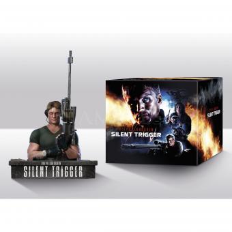 Silent Trigger (Limited Uncut Mediabook inkl. Büste) (1996) [FSK 18] [Blu-ray]