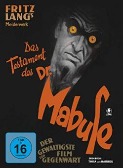 Das Testament des Dr. Mabuse (Limited Mediabook, Blu-ray+DVD) (1933) [Blu-ray]